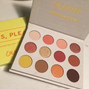 New ColourPop Yes,please/Sunset palette